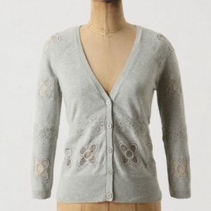 KNITTED & KNOTTED || Hibai Crotchet Lace Cardigan